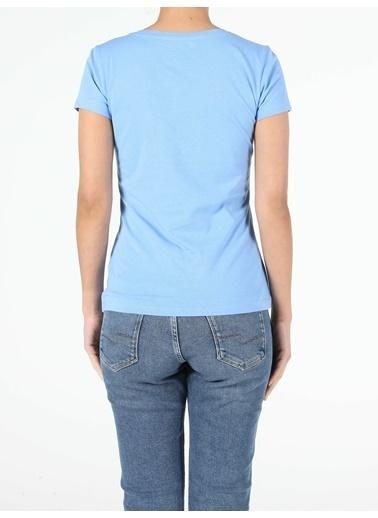 Colin's Kadın Kısa Kol Tişört Mavi